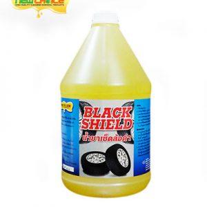 น้ำยาเช็ดล้อดำ BLACK SHIELD