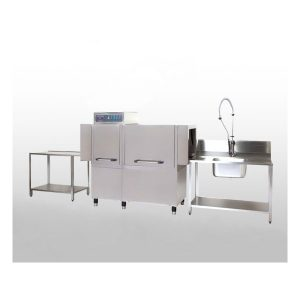 เครื่องล้างจานขนาดใหญ่ NDW Rack Conveyor